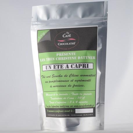 Thé vert parfumé Un été à Capri