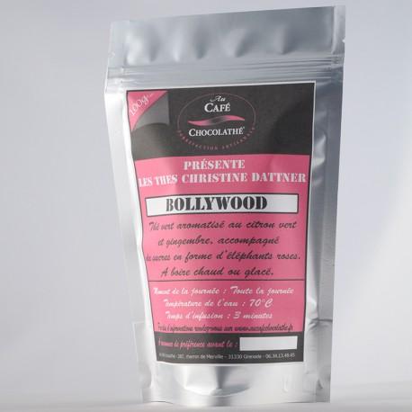 """Thé vert parfumé """"Bollywood"""""""